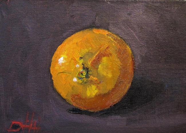 Art: Orange Still Life No. 3 by Artist Delilah Smith