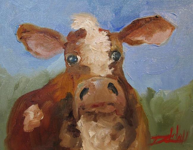 Art: Cow No. 19 by Artist Delilah Smith