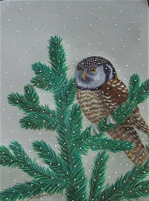 Art: Winter Ullet by Artist Jackie K. Hixon