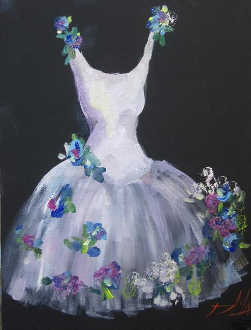 Art: Party Dress by Artist Delilah Smith