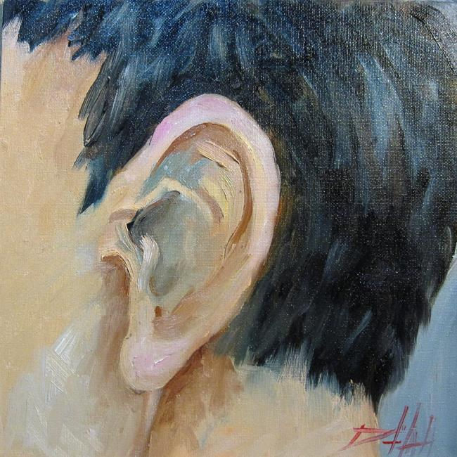Art: Ear by Artist Delilah Smith