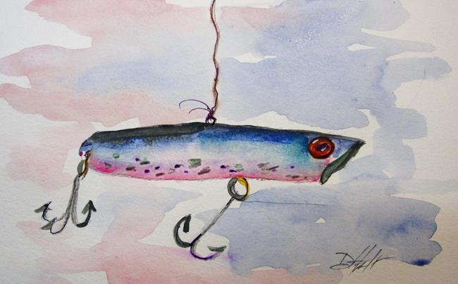 Art: Fishing Lure No. 12 by Artist Delilah Smith