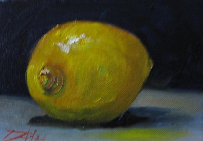Art: Lemon No. 4 by Artist Delilah Smith