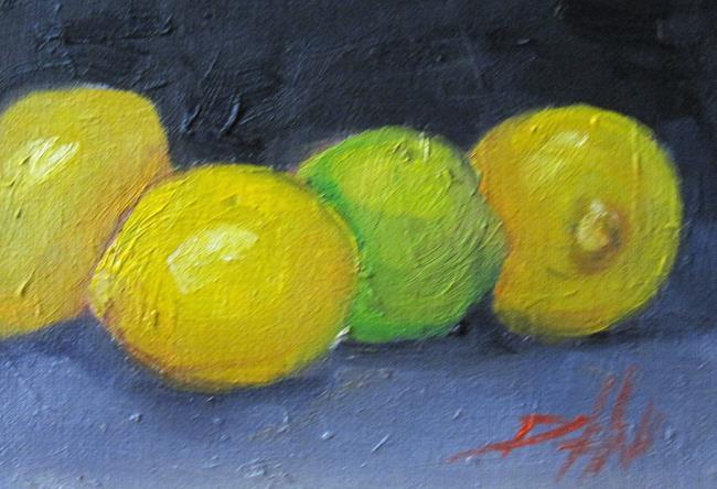 Art: Lemons and Lime by Artist Delilah Smith