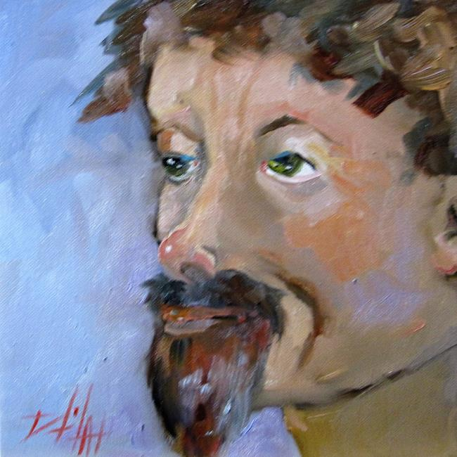 Art: Goatee by Artist Delilah Smith