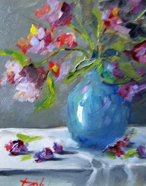 Art: Floral Still Life No. 13 by Artist Delilah Smith