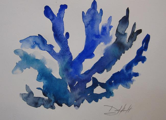 Art: Blue Coral by Artist Delilah Smith