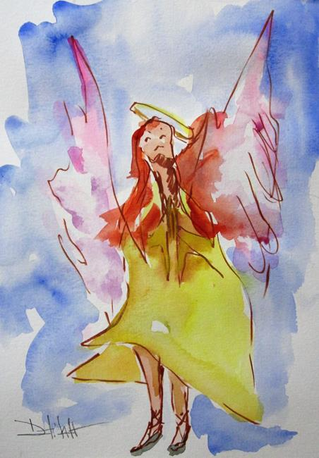 Art: Angel No. 38 by Artist Delilah Smith