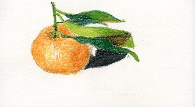 Art: Mandarine by Artist Gabriele Maurus