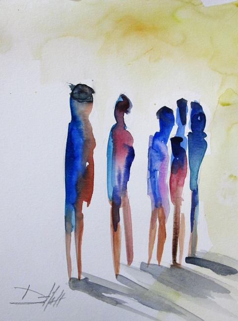 Art: Abstract Figurative-sold by Artist Delilah Smith