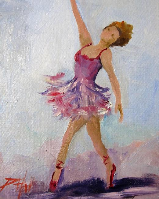 Art: Dancer by Artist Delilah Smith