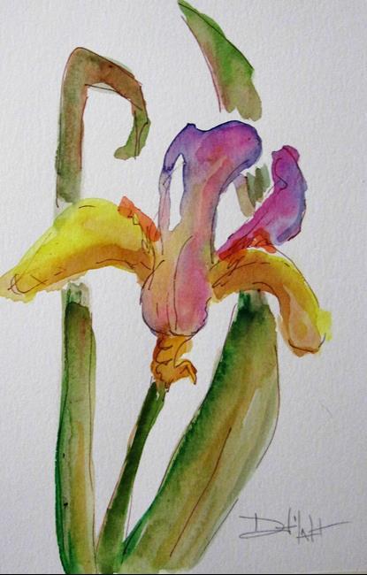 Art: Iris No. 17 by Artist Delilah Smith