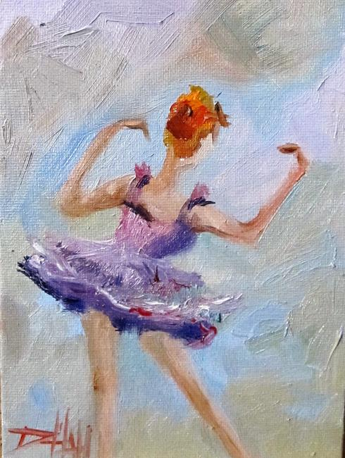 Art: Ballerina No. 13-sold by Artist Delilah Smith