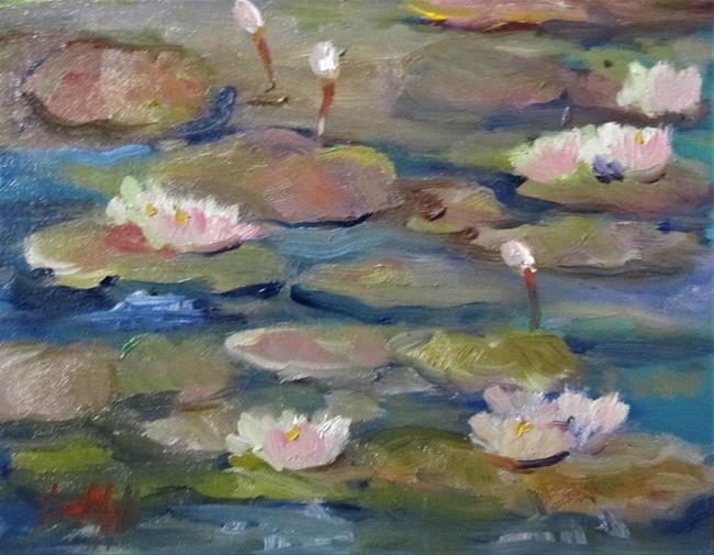 Art: Lily Pond No. 16 by Artist Delilah Smith