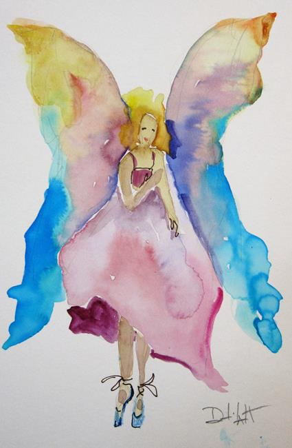 Art: Angel No. 39 by Artist Delilah Smith