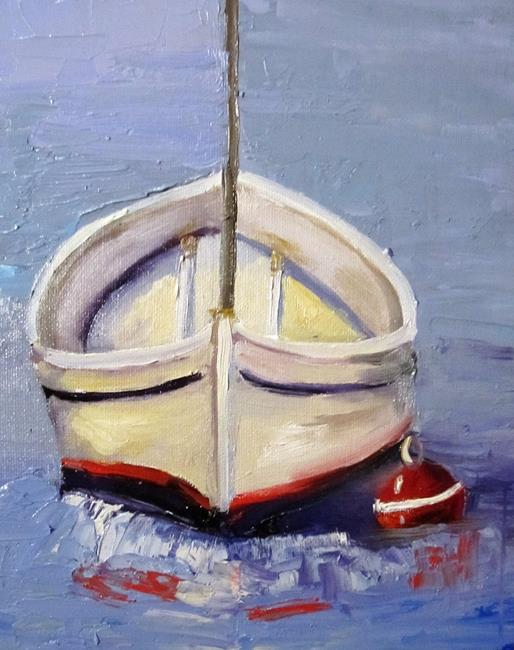 Art: Boat by Artist Delilah Smith