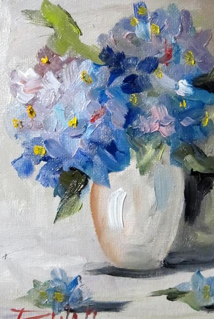 Art: Hydrangea No. 2-sold by Artist Delilah Smith