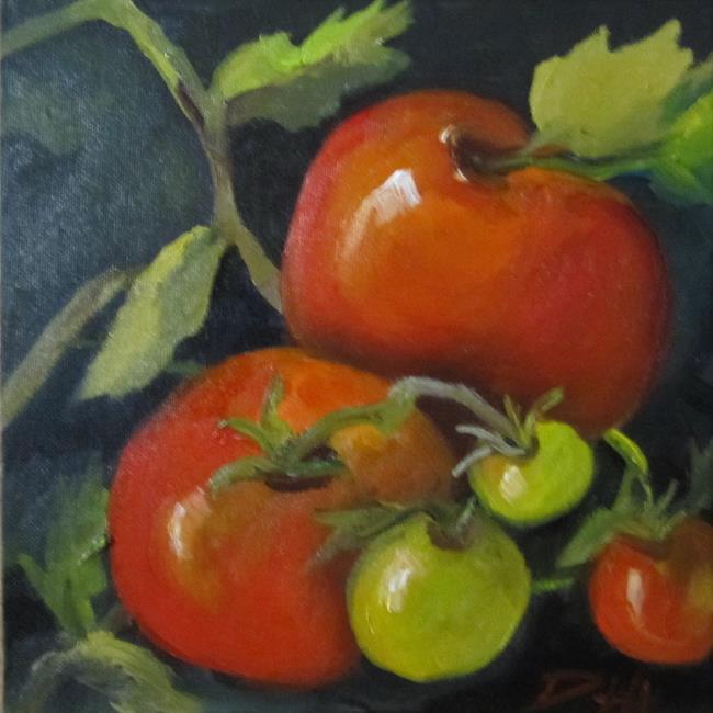 Art: On the Vine by Artist Delilah Smith