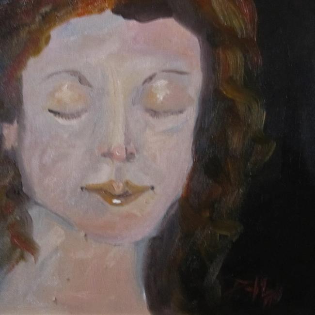 Art: Girl by Artist Delilah Smith