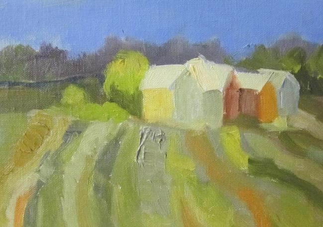 Art: Fields by Artist Delilah Smith