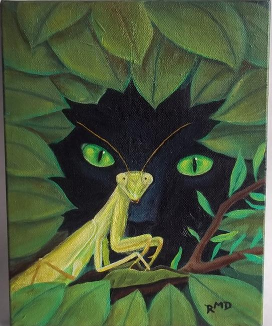 Art: WATCH OUT! by Artist Rosemary Margaret Daunis
