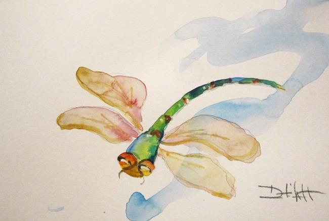 Art: Dragonfly No. 17 by Artist Delilah Smith