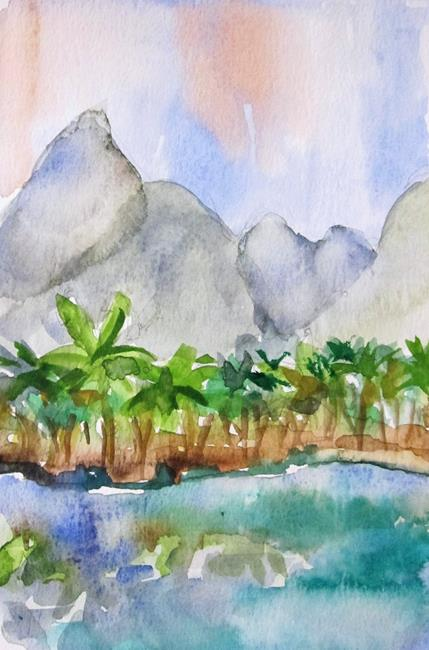 Art: Xiufeng China by Artist Delilah Smith