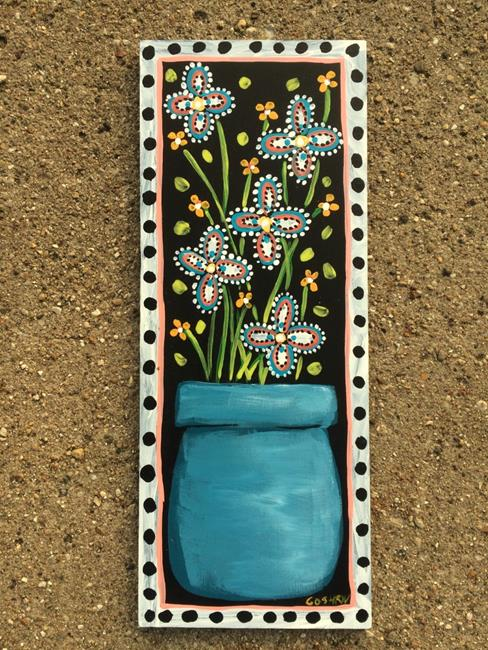 Art: Sing The Blues by Artist Cindy Bontempo (GOSHRIN)