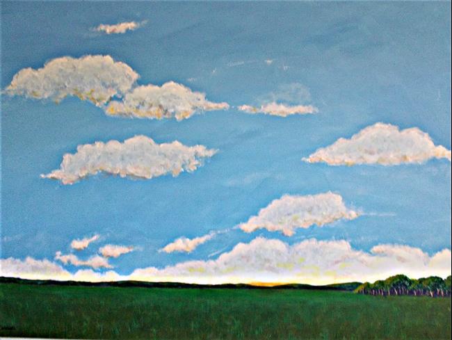 Art: Big Sky by Artist Fran Caldwell