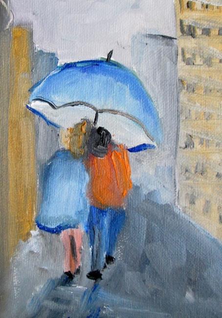 Art: Umbrellas No. 3 by Artist Delilah Smith