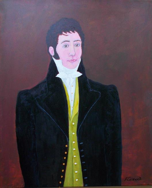 Art: The Young Dandy by Artist Fran Caldwell