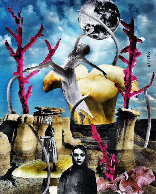 Art: A Fragile Balance 3 by Artist Vicky Helms