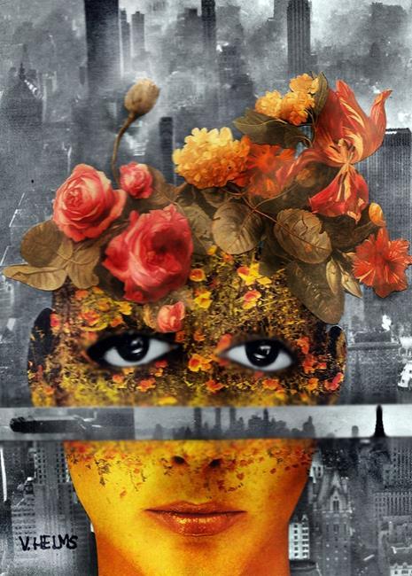 Art: Creativity Overload 2 by Artist Vicky Helms