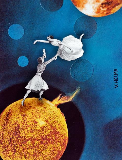 Art: Dancers by Artist Vicky Helms