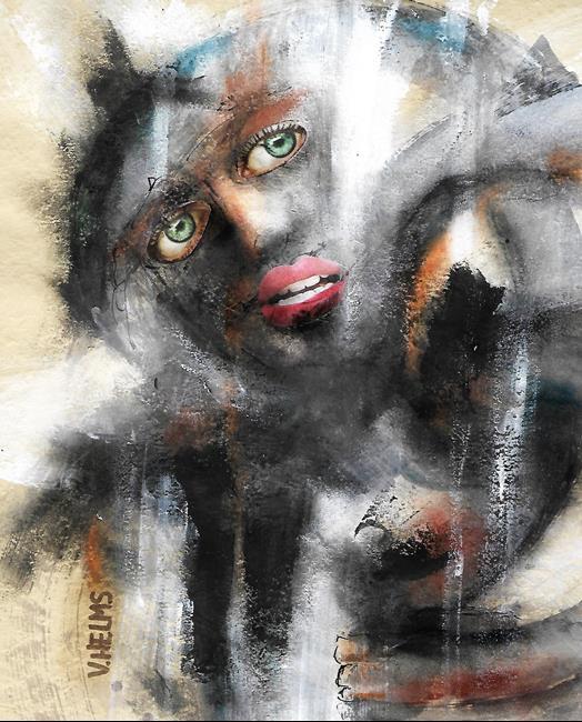 Art: Facing It by Artist Vicky Helms