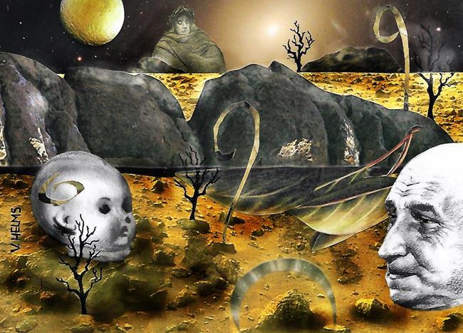 Art: Mood 2 by Artist Vicky Helms