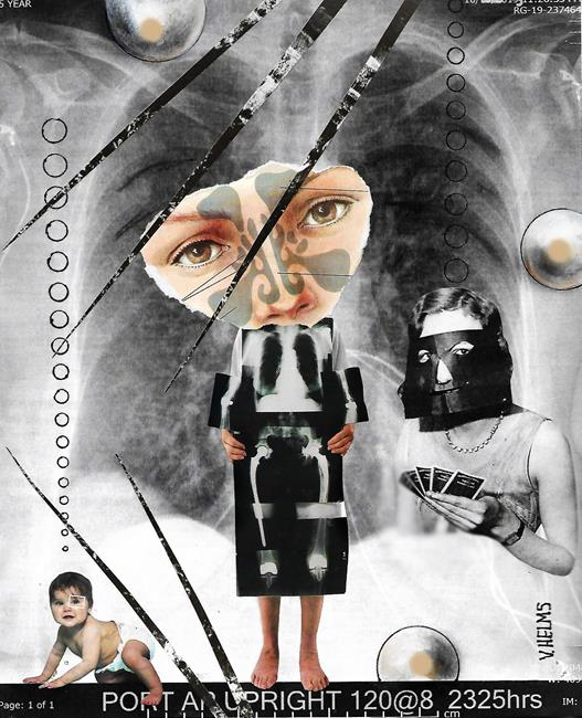 Art: X rayed by Artist Vicky Helms