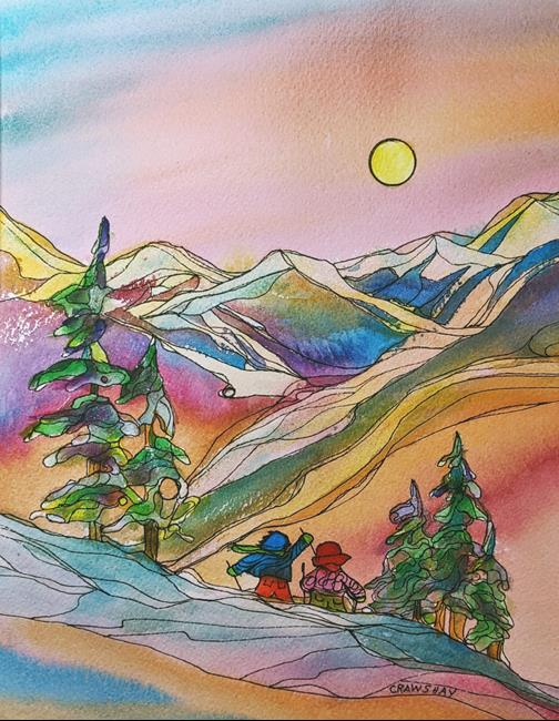 Art: The Spirit of a Place by Artist Kathy Crawshay