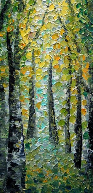 Art: Spring Path by Artist LUIZA VIZOLI