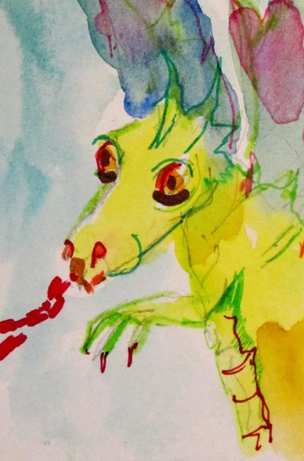 Art: Dragon by Artist Delilah Smith
