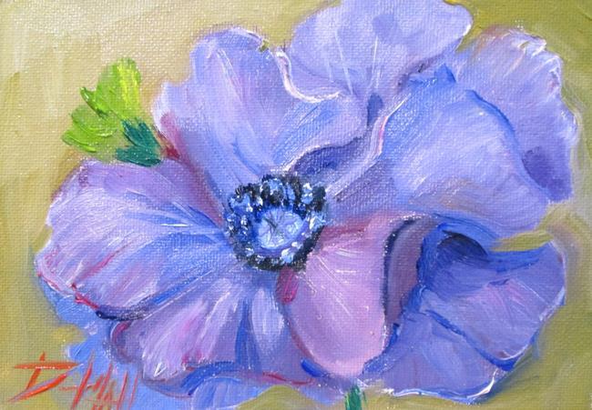 Art: Purple Poppy by Artist Delilah Smith