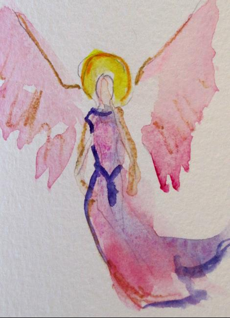 Art: Angel No. 40 by Artist Delilah Smith