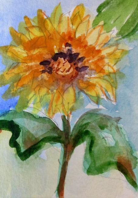 Art: Sunflower No. 7 by Artist Delilah Smith
