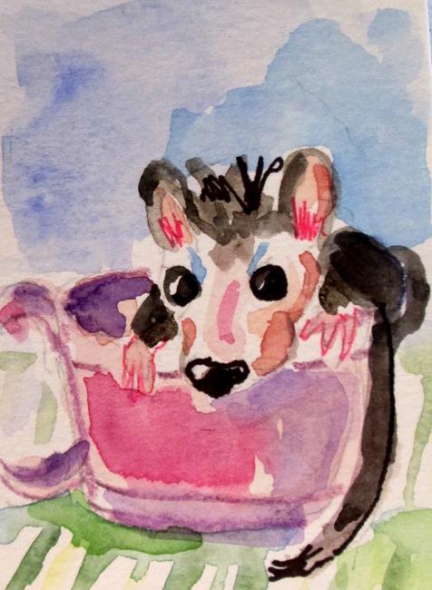 Art: Dormouse by Artist Delilah Smith