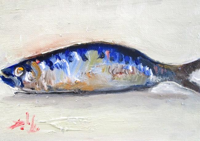 Art: Sardine by Artist Delilah Smith