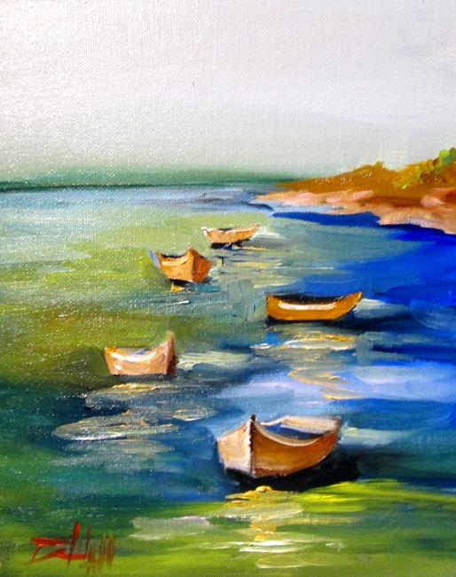 Art: Rowboat by Artist Delilah Smith
