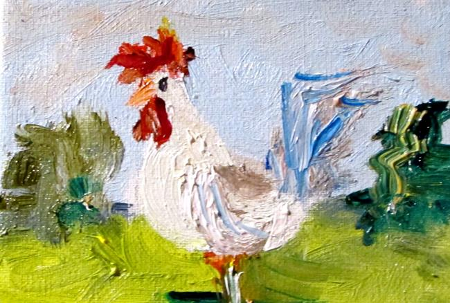 Art: Rooster No. 58 by Artist Delilah Smith
