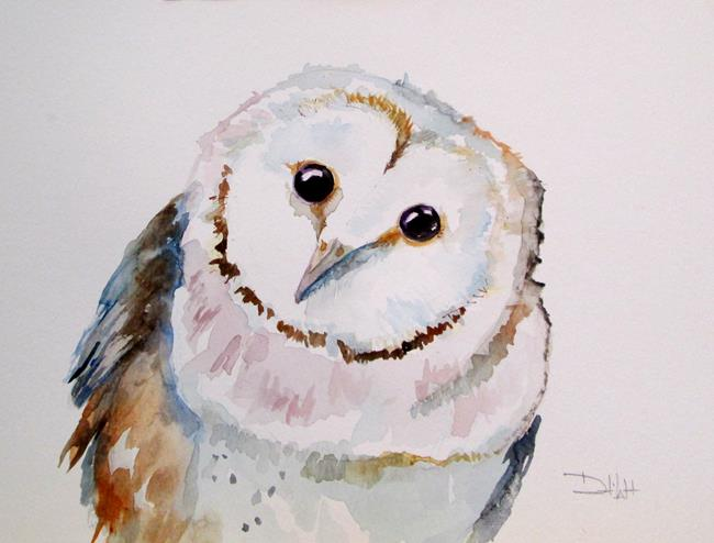 Art: Owl No. 16 by Artist Delilah Smith