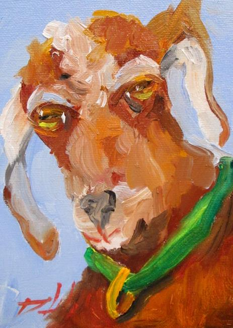 Art: Goat No. 11 by Artist Delilah Smith