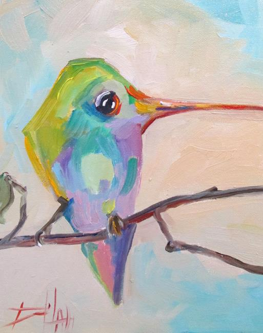 Art: Hummingbird No. 23 by Artist Delilah Smith